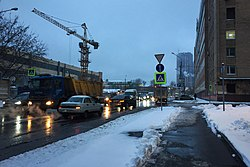 Moscow, Dvintsev Street, subway construction site (31427516650).jpg