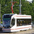 Moscow tram 71-911 0202 at test run.jpg