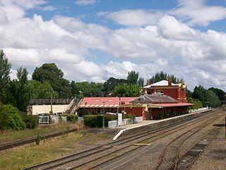 Moss Vale railway station