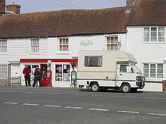Rolvenden - Image: Motor Museum, Rolvenden geograph.org.uk 2764