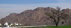 Mount Rubidoux, named after Louis Robidoux