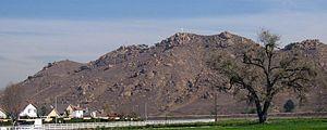 Mount Rubidoux - Image: Mount Rubidoux 1