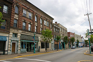Brownsville Road street in Allegheny County, Pennsylvania