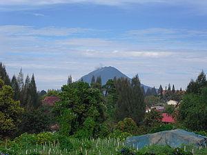 Mount Sinabung - Mount Sinabung, April 23, 2013.
