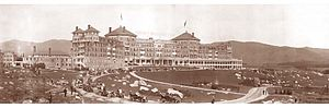 Bretton Woods, New Hampshire - The Mount Washington Hotel in 1905
