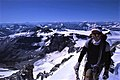 Mountaineering in Canada; Mount Forbes' summit.jpg