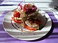 Mozzarella and cheese salad in the savour cafe.jpg