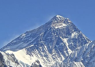 Adventure Consultants - Everest's peak from Gokyo Ri