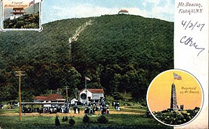 Mount Beacon Incline Railway - From a 1907 post card