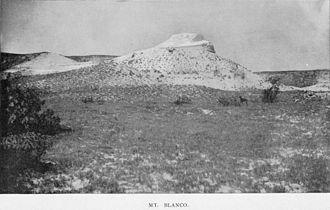 Mount Blanco - Image: Mt Blanco 1891