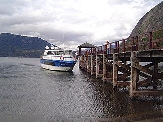 Neuquén Province - Quina Quina dock.