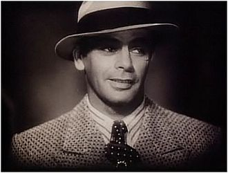 Scarface (1932 film) - Paul Muni in the trailer for Scarface.