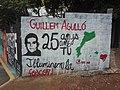 Mural Guillem Agulló in Sarrià (Barcelona).jpg