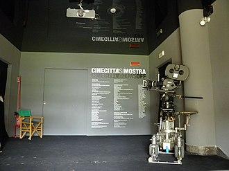 Cinecittà - Image: Musée Cinecittà