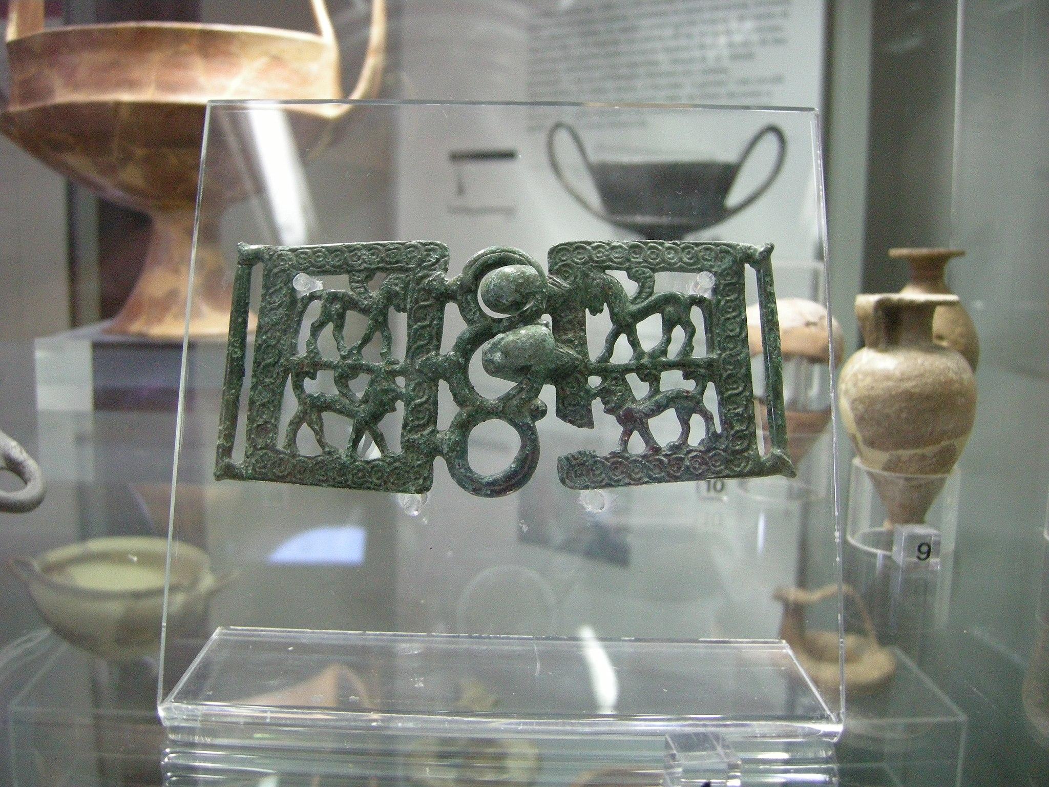 Museo archeologico di massa marittima, fibbia etrusca