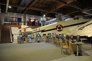 Museo dell'Aeronautica Gianni Caproni S.79 and flight simulation (2).JPG