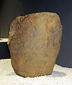 Museum of Prehistory and Archaeology of Cantabria 01 - Stele for Pentovio.JPG