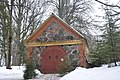 Nītaures pareizticīgo draudzes kapu kapliča Krievkalnā, Nītaures pagasts, Amatas novads, Latvia - panoramio.jpg