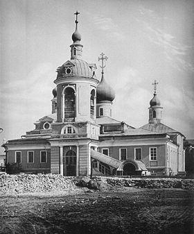 Старая фотография церкви