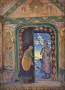 N. Roerich - The Messenger - Google Art Project