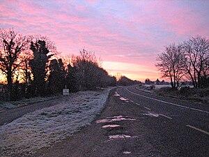 N3 road (Ireland) - The old N3, between Clonee and Dunshaughlin