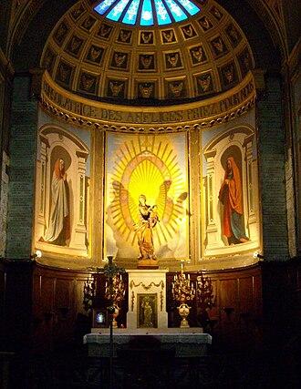 Étienne-Hippolyte Godde - interior, Notre-Dame de Bonne-Nouvelle, Paris