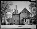 NORTH ELEVATION - Fort Sheridan, Post Commandant's Quarters, 111 Logan Loop, Lake Forest, Lake County, IL HABS ILL,49-FTSH,1-2-4.tif