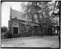 NORTH FACADE - St. Luke's Episcopal Church, Fifteenth and Church Streets Northwest, Washington, District of Columbia, DC HABS DC,WASH,231-3.tif