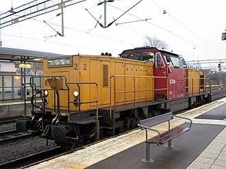 NSB Di 8 - CargoNet Di 8.704 at Nässjö Central Station, Sweden