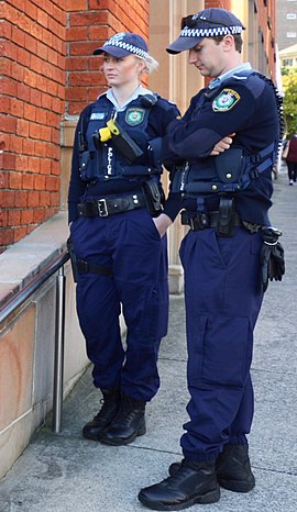 Police officers in Sydney, Australia NSW Police Officers.jpg