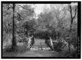 NW PORTAL LOOKING SE - DeGray Creek Bridge, Spanning DeGray Creek at Blish Road (CR 50), Arkadelphia, Clark County, AR HAER AR-81-7.tif