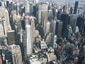 NYC Manhattan from Empire State Building 2003.jpg