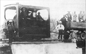 1889 in South Africa - NZASM 10 Tonner 0-4-0T