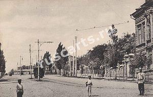 Nakhchivan on postcard