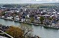 Namur Blick von der Zitadelle auf die Maas 08.jpg