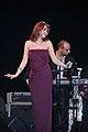 Nancy Ajram - Bahrain Concert 2010 - Dec 4, 2010.jpg
