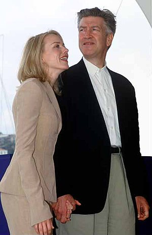 Naomi Watts - Watts with filmmaker David Lynch at the 2001 Cannes Film Festival