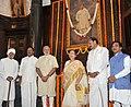 Narendra Modi, the Speaker, Lok Sabha, Smt. Sumitra Mahajan, the Union Minister for Urban Development, Housing and Urban Poverty Alleviation and Parliamentary Affairs (1).jpg