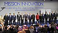 Narendra Modi with the President of United States of America (USA), Mr. Barack Obama, the President of France, Mr. Francois Hollande, the President of Brazil, Ms. Dilma Rousseff, Mr. Bill Gates and other dignitaries.jpg