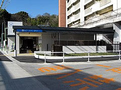 Naruko Kita Station 27-March-2011.JPG