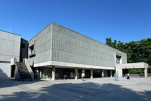 National Museum of Western Art - National Museum of Western Art, Tokyo. One of the examples of architecture by Le Corbusier