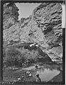 Natural bridge, La Prele Canyon, Converse County, Wyoming - NARA - 516876.jpg