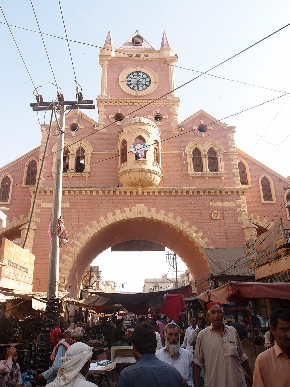 Navalrai Market Clock Tower view 1