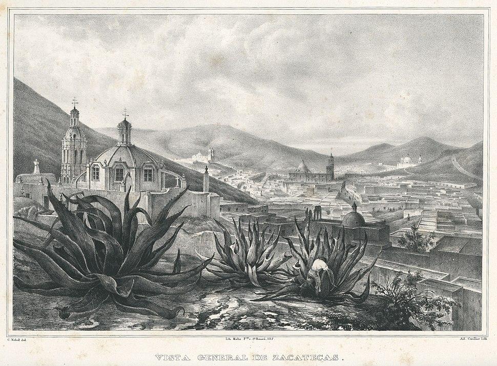 Nebel Voyage 28 Vista general de Zacatecas