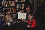 Neil Gaiman Book signing California 2001.jpg
