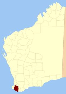 Nelson Land District Cadastral in Western Australia