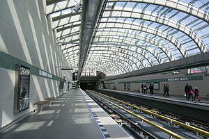 Prague Metro - Terminal station Nemocnice Motol