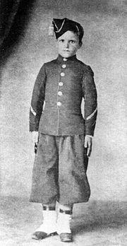 Soldado crian�a argentino.