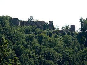 Neuscharfeneck Castle - Image: Neuscharfeneck