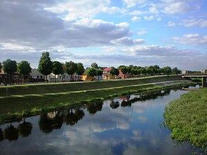 Nevėžis (river) - The river in Kėdainiai